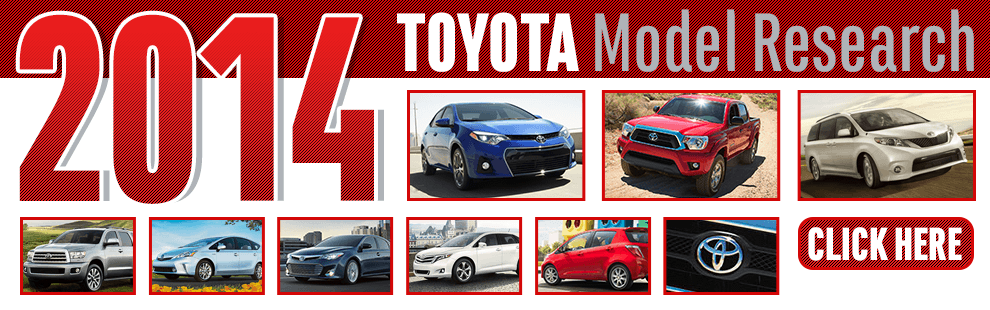 Click to View Our 2014 Toyota Model Information in Wichita, KS