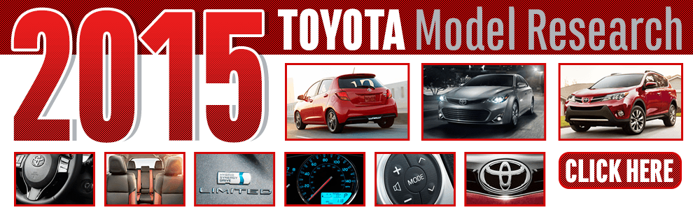 Click to Browse 2015 Toyota Model Information in Wichita, KS