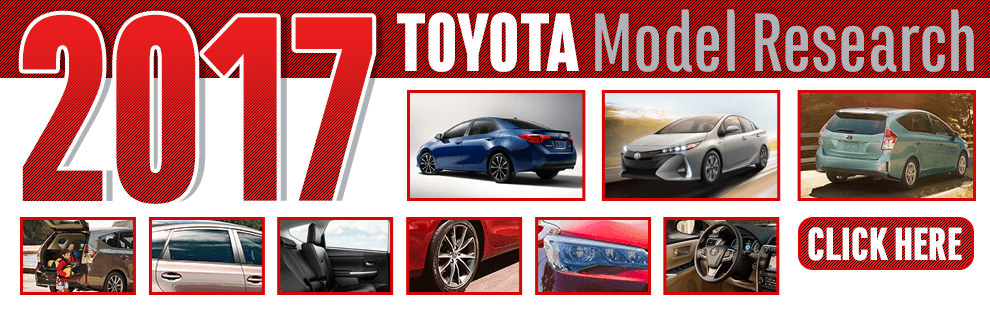 Click to research our 2017 Toyota models in Wichita, KS