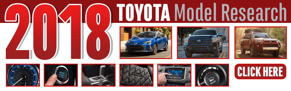 Click to research our new 2018 Toyota models in Wichita, KS