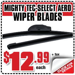 Mighty Brand TecSelect Aero Windshield Wiper Blade Parts Discount special offer from Eddy's Toyota in Wichita, Kansas