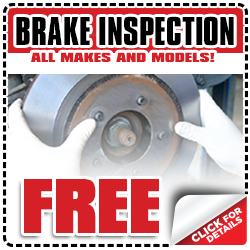 Free Toyota Brake Inspection Service Special Coupon serving Wichita, Kansas
