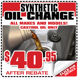 Wichita Toyota Synthetic Oil Change Service Special Discount Coupon serving Kansas
