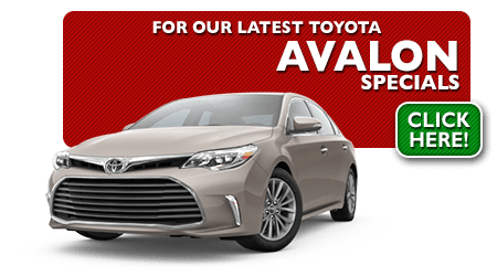 New Toyota Avalon Special Discounts for Purchase & Lease Offers serving Wichita, Dodge City & Emporia, KS