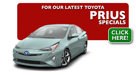 New Toyota Prius Special Discounts for Purchase & Lease Offers serving Wichita, Dodge City & Emporia, KS