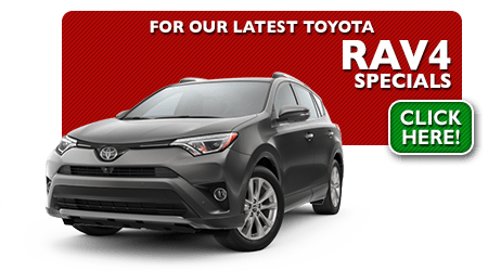 New Toyota RAV4 Special Discounts for Purchase & Lease Offers serving Wichita, Dodge City & Emporia, KS