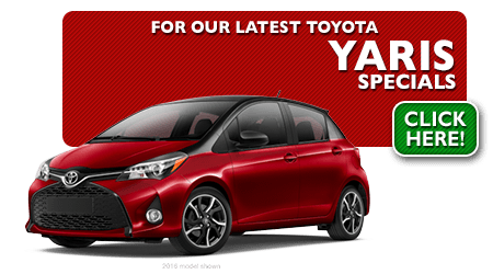 New Toyota Yaris Special Discounts for Purchase & Lease Offers serving Wichita, Dodge City & Emporia, KS