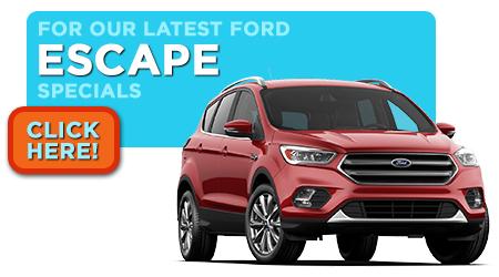 New Ford Escape Specials Serving Wichita, KS