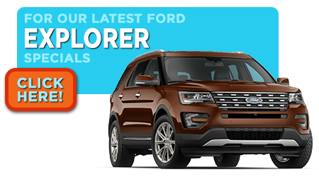 New Ford Explorer Specials Serving Wichita, KS