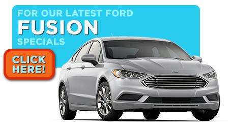 New Ford Fusion Specials Serving Wichita, KS