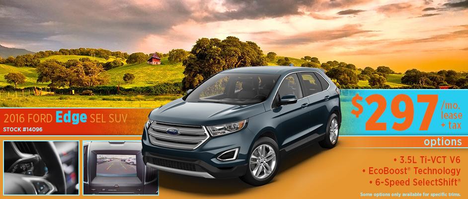 2016 Ford Edge SEL Lease Special in Wichita, KS