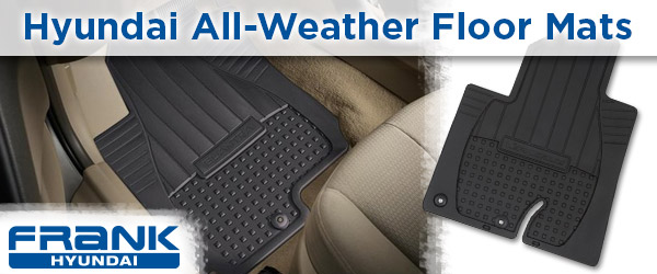 Frank Hyundai All Weather Floor Mats National City, California
