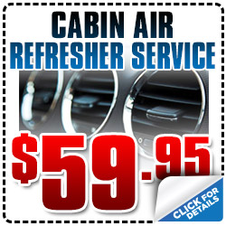 Hyundai Cabin Air Refresher Service Special serving San Diego, CA