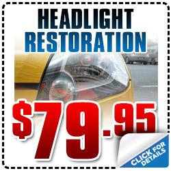 Hyundai Headlight Restoration Service Special San Diego, CA