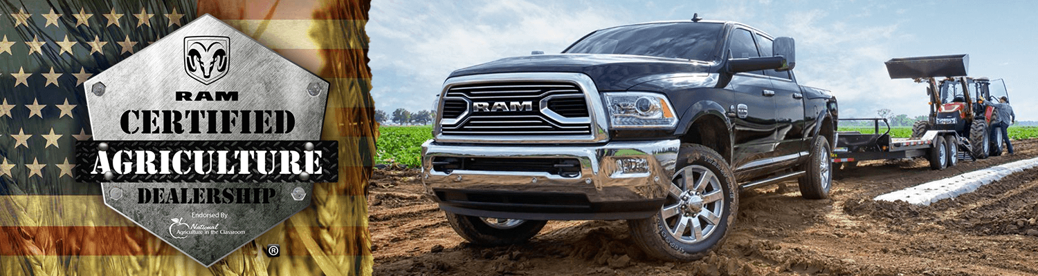 Grieger's Motors in Valparaiso, IN is a RAM Certified Agriculture Dealership
