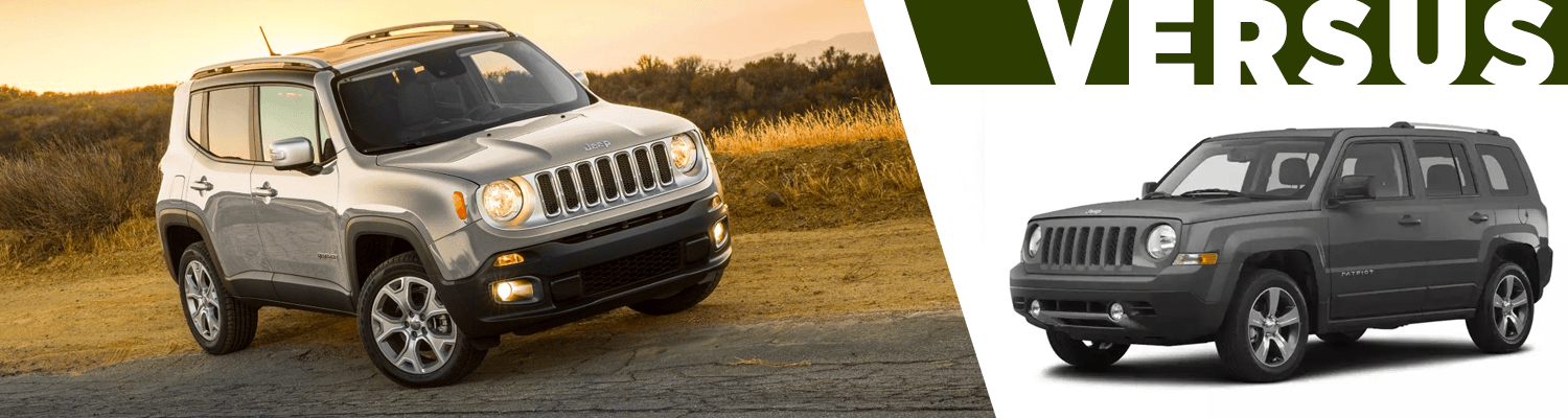 Compare The 2018 Jeep Renegade vs 2017 Jeep Patriot Models