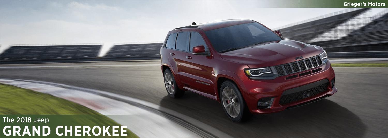 2018 Jeep Grand Cherokee Model Information In Valparaiso, IN