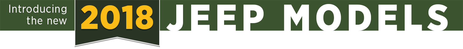 New 2018 Jeep Model Research provided by Grieger's Motors in Valparaiso, IN