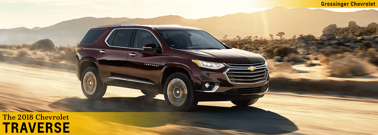 2018 chevrolet traverse model features in palatine, il