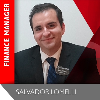 Salvador Lomelli Finance Manager