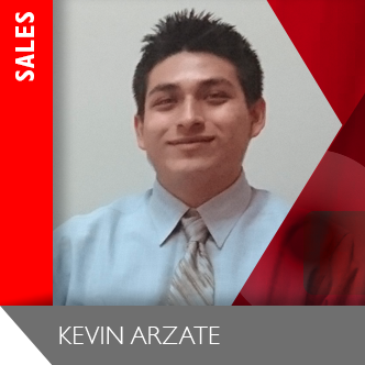 Kevin Arzate Sales Team Member