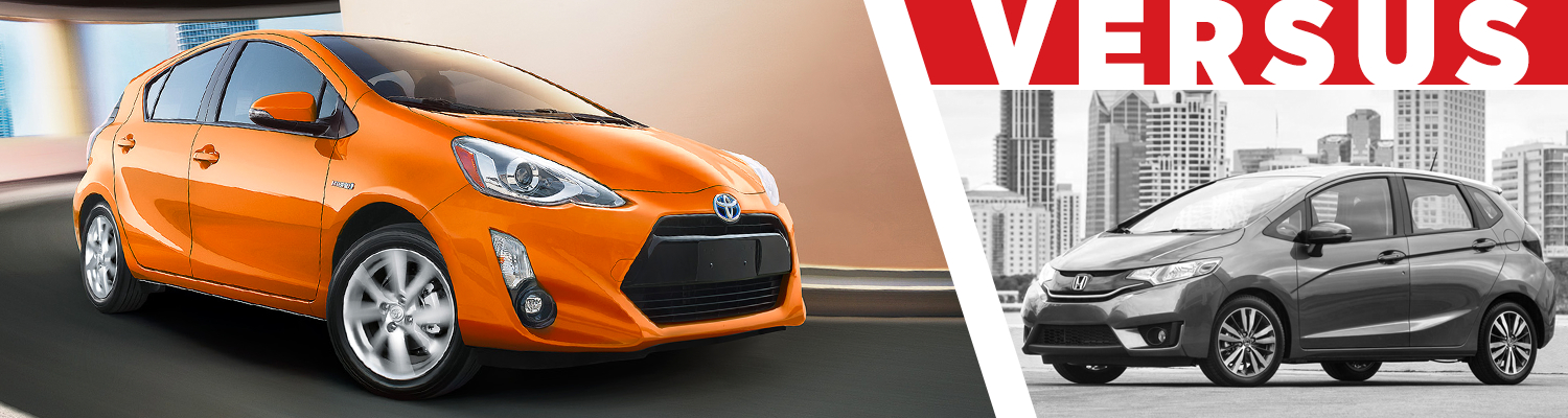 Grossinger Toyota Chicago >> 2016 Toyota Prius C VS Honda Fit Comparison | VS ...