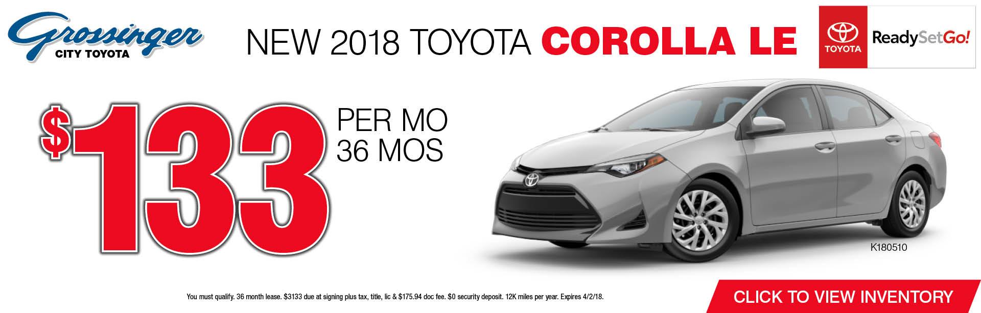 New Toyota Corolla Sales Amp Lease Specials Chicago Il