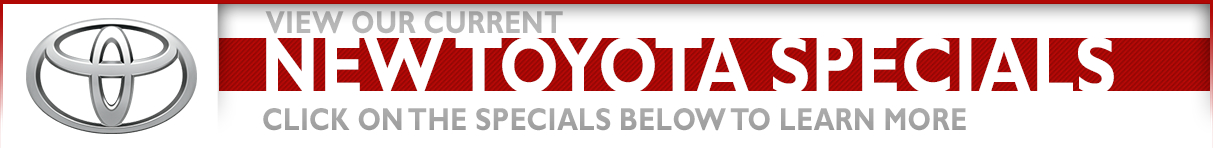 New Toyota Vehicle Specials & Discount Offers available at Grossinger City Toyota in Chicago, IL