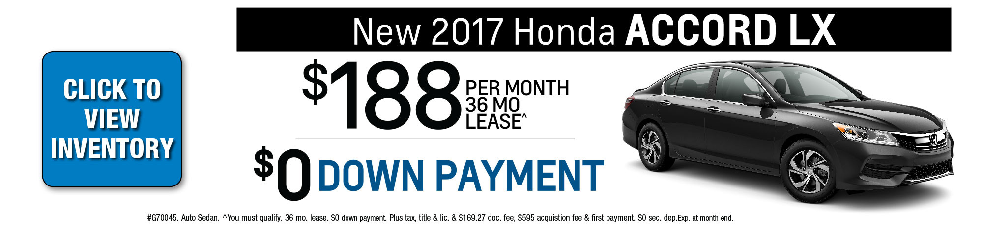 New 2016 Honda Accord Lease Special Chicago Il New