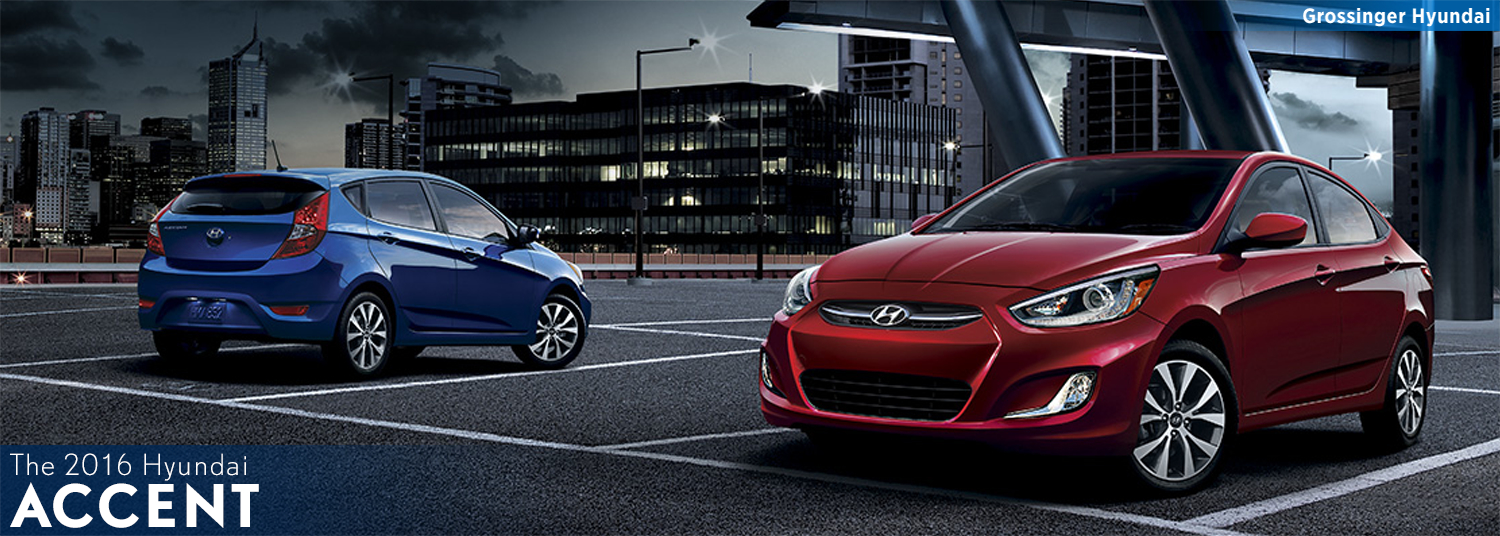 New 2016 Hyundai Accent Features