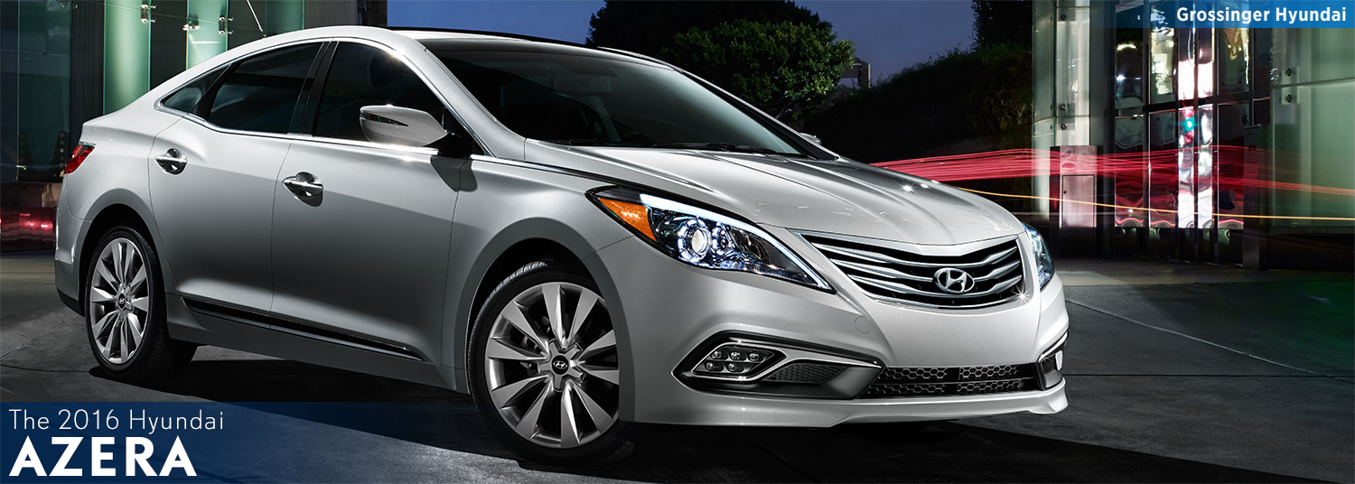 Research the new 2016 Hyundai Azera model in Palatine, IL