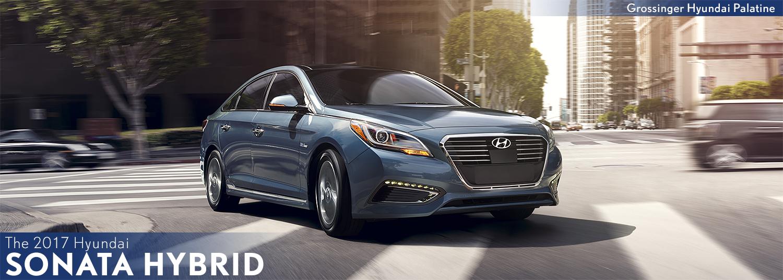 2017 Hyundai Sonata Hybrid Model Information in Palatine, IL