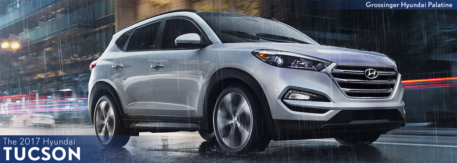 New 2017 Hyundai Tucson Model Information in Palatine, IL