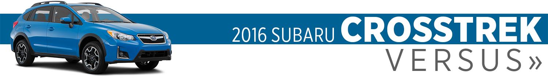 2016 Subaru Crosstrek Model VS Competition
