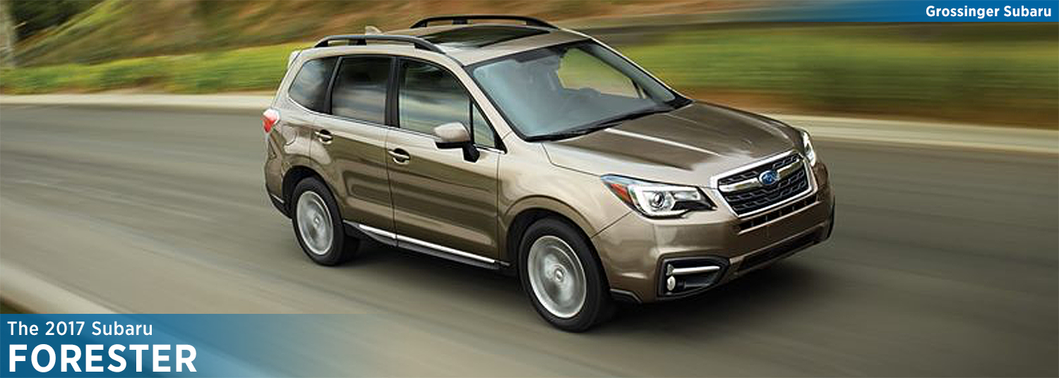 Research the new 2017 Subaru Forester model in Bloomington-Normal, IL