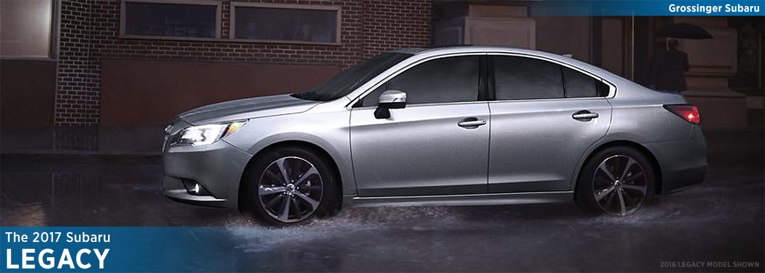 Research the new 2017 Subaru Legacy model in Bloomington-Normal, IL