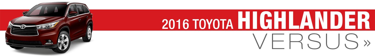 pare New 2016 Toyota Models VS petition