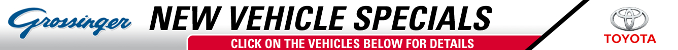 Click on the vehicles below to see how you can save with Grossinger Toyota North in Lincolnwood, IL