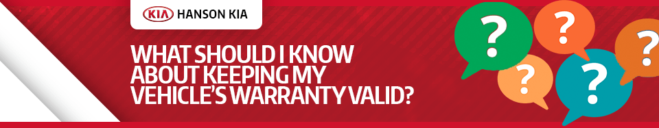 How Can I Keep My KIA Vehicle's Warranty Valid Service FAQ in Olympia, WA