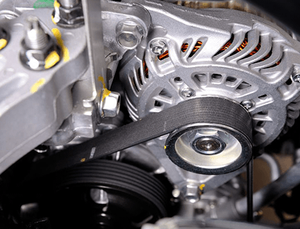 Change  your timing belt to avoid engine failure.