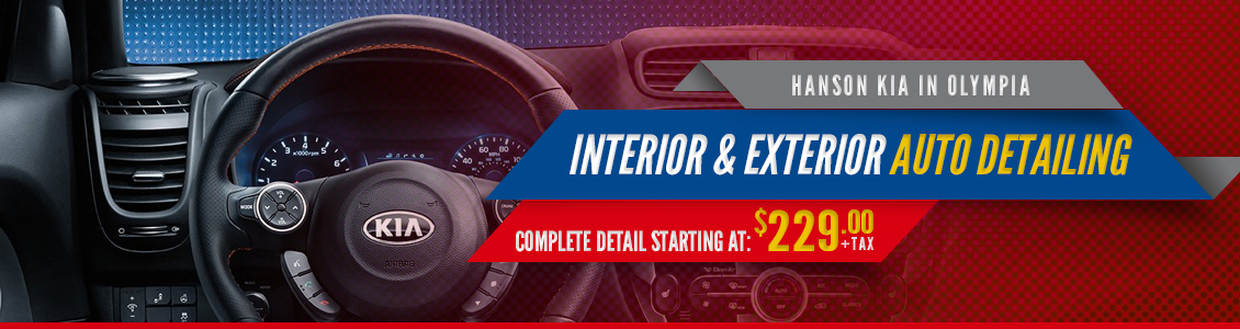 Hanson Kia Detail Services in Olympia, WA