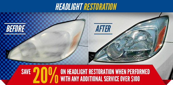 Kia Headlight Restoration Detail Service in Olympia, WA