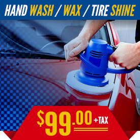 Kia Hand Wash, Wax, and Tire Shine Detail Service in Olympia, WA