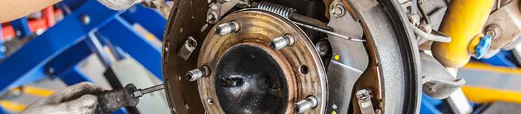 Kia rear brake shoe replacement service information for Hanson motors service department