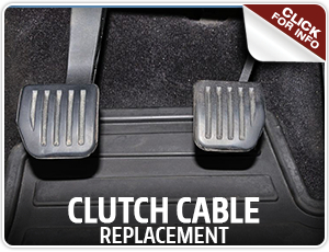 Click to view our Kia clutch cable replacement service information in Olympia, WA