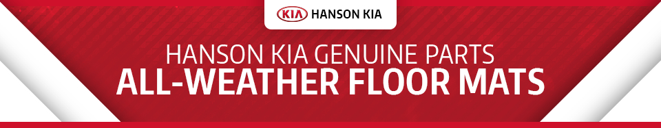 Learn more about genuine Kia all-weather floor mats, available at Hanson Kia in Olympia, WA
