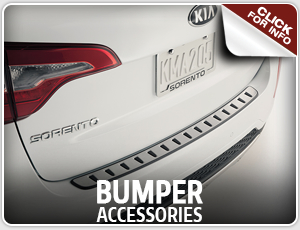 Click here to learn more about Genuine Kia bumper accessories, available in Olympia, WA