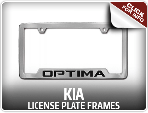 Browse our license plate frame information at Hanson Kia in Olympia, WA