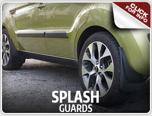 Click here to learn more about Genuine Kia splash guards, available in Olympia, WA