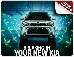 Click to view our Break in a New Kia Service FAQ serving Olympia, WA